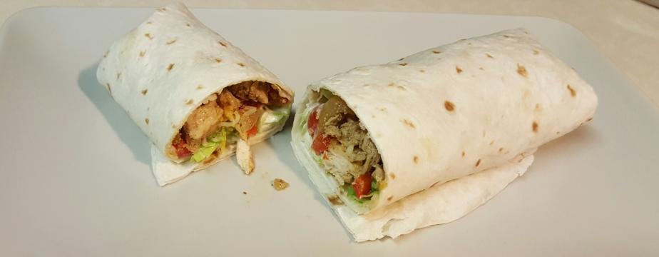 Not your Grandma's Chicken Wraps