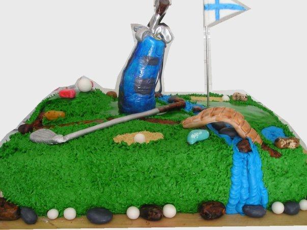 Jamie's golf cake