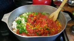 Salsa before