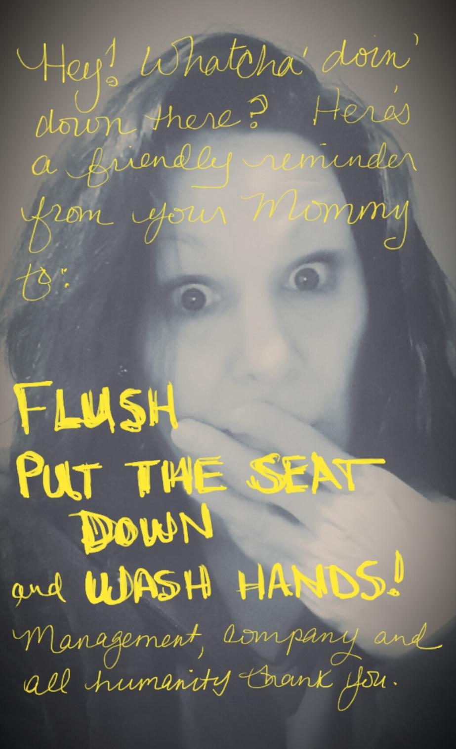 toilet scare