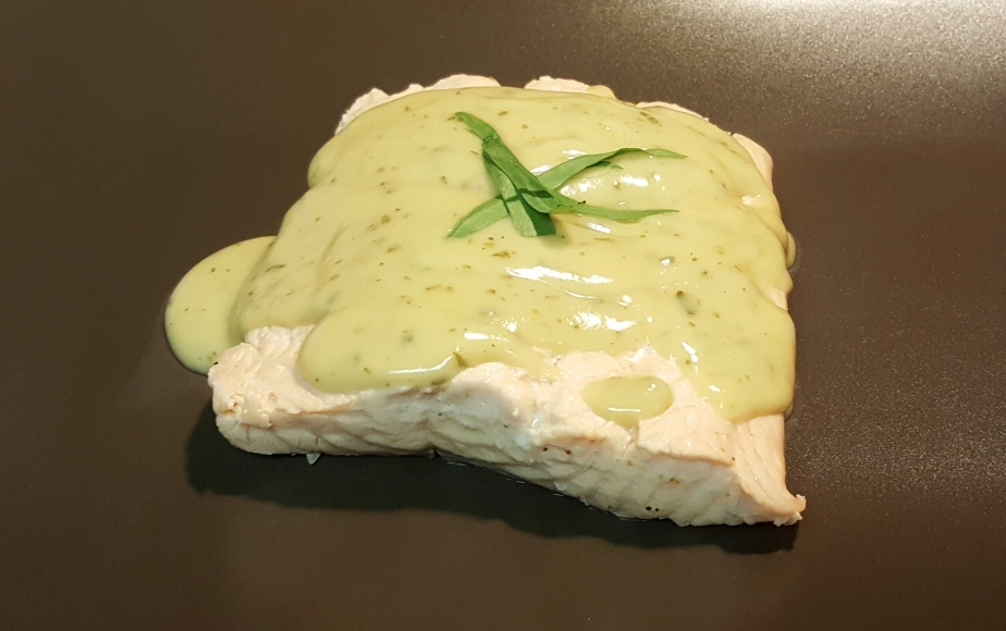 SO EASY Succulent Poached Salmon with Béarnaise Sauce